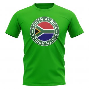 South Africa Football Badge T-Shirt (Green)