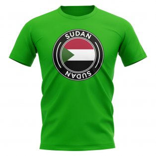 Sudan Football Badge T-Shirt (Green)