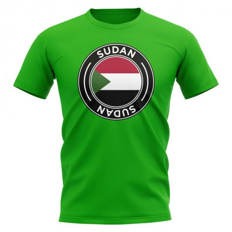 Sudan Football Badge T-Shirt (Green)