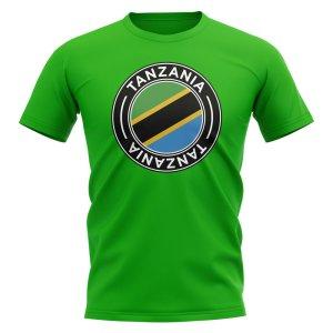 Tanzania Football Badge T-Shirt (Green)