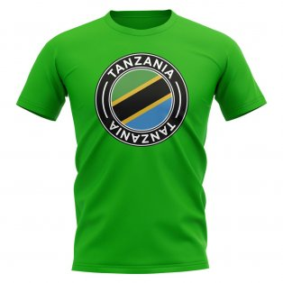 Tanzania Football Badge T-Shirt (Green)