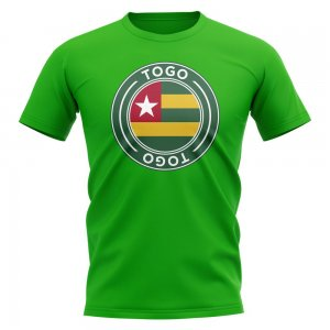 Togo Football Badge T-Shirt (Green)