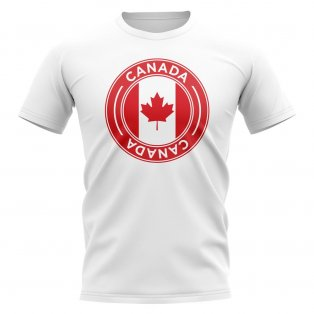 Canada Football Badge T-Shirt (White)
