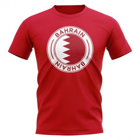 Bahrain Football Badge T-Shirt (Red)