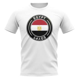 Egypt Football Badge T-Shirt (White)