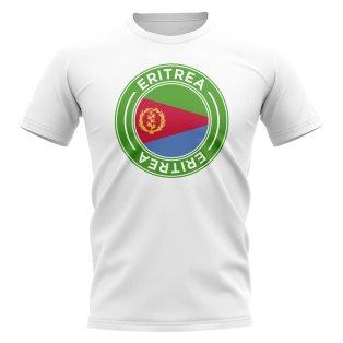 Eritea Football Badge T-Shirt (White)