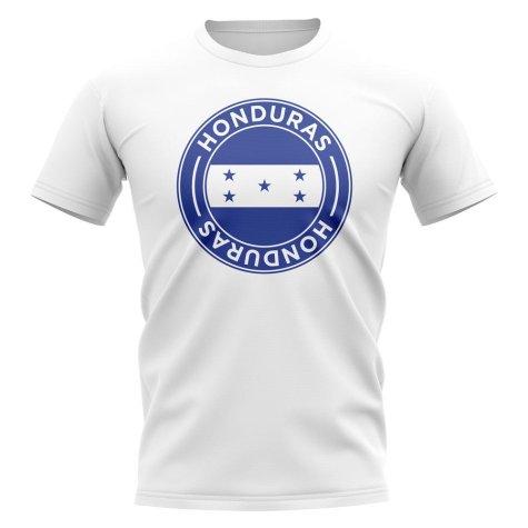 Honduras Football Badge T-Shirt (White)