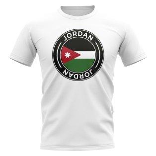 Jordan Football Badge T-Shirt (White)