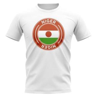 Niger Football Badge T-Shirt (White)