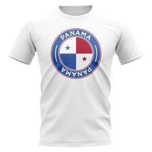 Panama Football Badge T-Shirt (White)
