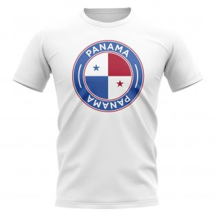 Panama Football Badge T-Shirt (White)