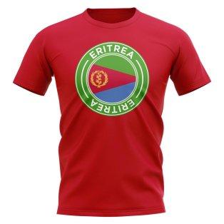 Eritrea Football Badge T-Shirt (Red)