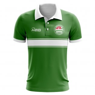 Abhkazia Concept Stripe Polo Shirt (Green)