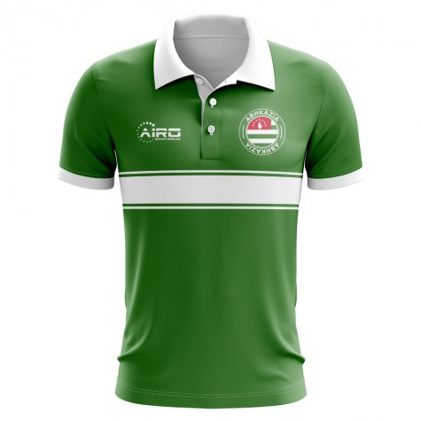 Abhkazia Concept Stripe Polo Shirt (Green) - Kids
