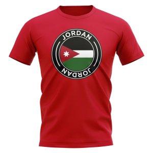 Jordan Football Badge T-Shirt (Red)