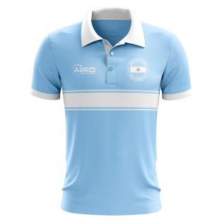 Argentina Concept Stripe Polo Shirt (Sky)