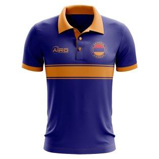 Armenia Concept Stripe Polo Shirt (Royal) - Kids