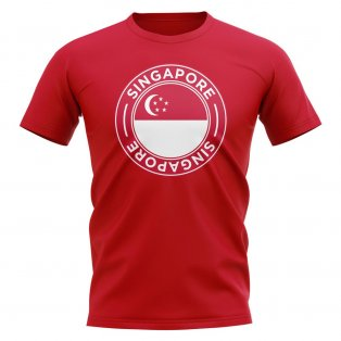 Singapore Football Badge T-Shirt (Red)