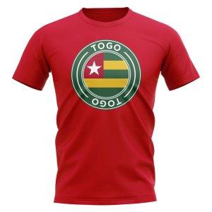Togo Football Badge T-Shirt (Red)