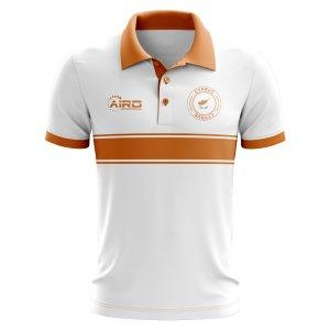Cyprus Concept Stripe Polo Shirt (White)
