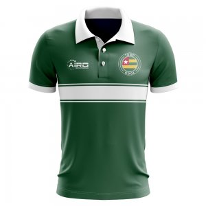 Togo Concept Stripe Polo Shirt (Green) - Kids