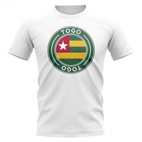 Togo Football Badge T-Shirt (White)