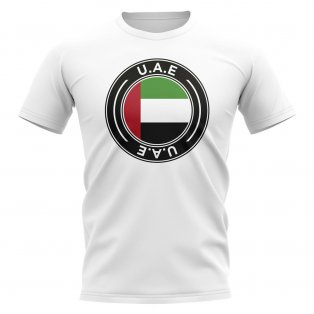UAE Football Badge T-Shirt (White)