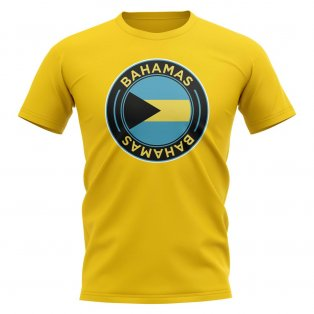 Bahamas Football Badge T-Shirt (Yellow)