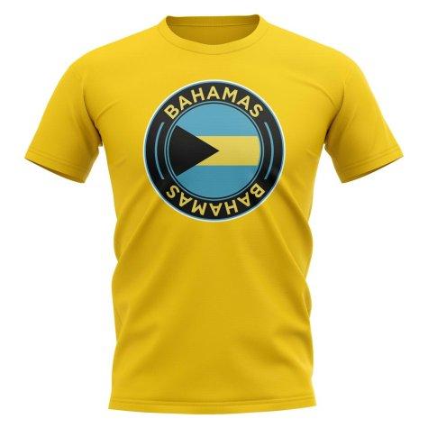 Bahamas Football Badge T-Shirt (Yellow)