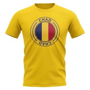 Chad Football Badge T-Shirt (Yellow)