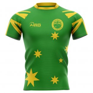 2019-2020 Australia Flag Concept Rugby Shirt - Little Boys