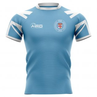 2020-2021 Fiji Flag Concept Rugby Shirt