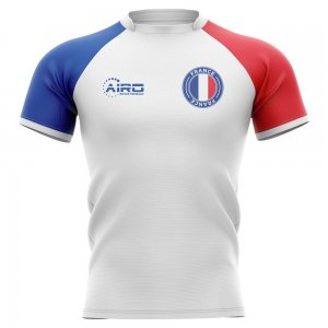 2019-2020 France Flag Concept Rugby Shirt - Womens