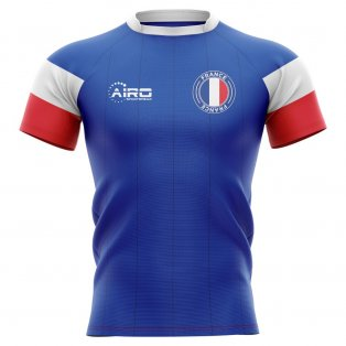 2019-2020 France Home Concept Rugby Shirt
