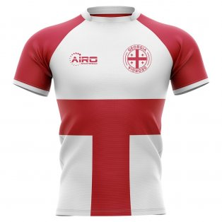 2019-2020 Georgia Flag Concept Rugby Shirt