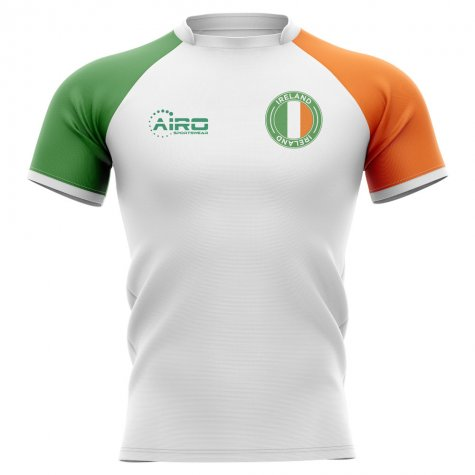 2019-2020 Ireland Flag Concept Rugby Shirt - Womens