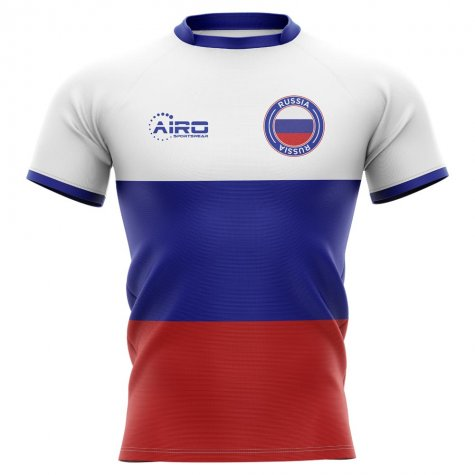 2019-2020 Russia Flag Concept Rugby Shirt - Kids