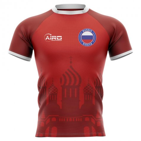 2019-2020 Russia Home Concept Rugby Shirt - Womens