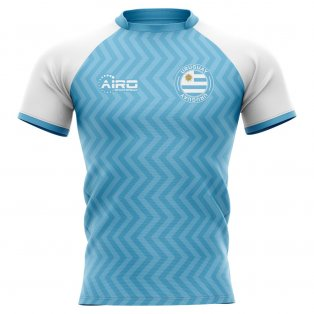 2020-2021 Uruguay Home Concept Rugby Shirt - Little Boys