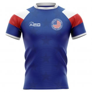 2019-2020 United States USA Home Concept Rugby Shirt