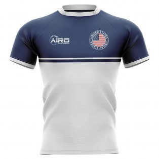 2019-2020 United States USA Training Concept Rugby Shirt