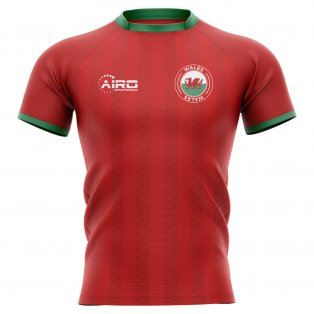 2020-2021 Wales Home Concept Rugby Shirt - Little Boys