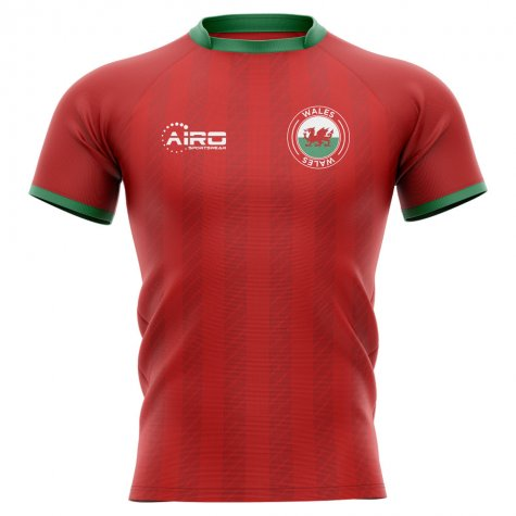 2020-2021 Wales Home Concept Rugby Shirt