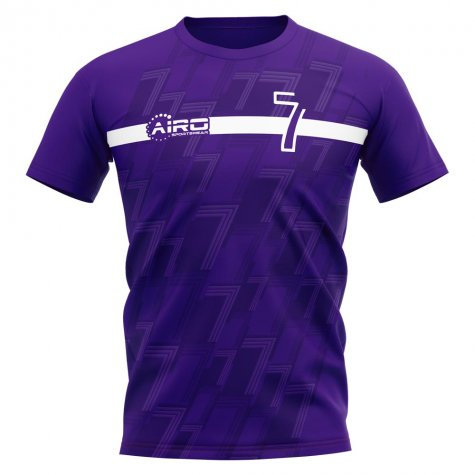 2020-2021 Madrid Raul Concept Football Shirt