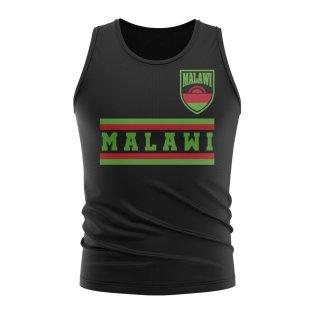 Malawi Core Football Country Sleeveless Tee (Black)