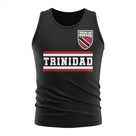 Trinidad and Tobago Core Football Country Sleeveless Tee (Black)