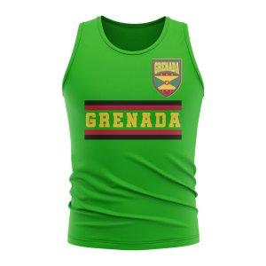 Grenada Core Football Country Sleeveless Tee (Green)