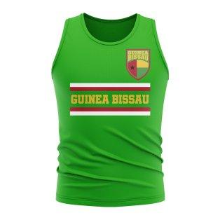 Guinea Bissau Core Football Country Sleeveless Tee (Green)