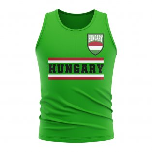 Hungary Core Football Country Sleeveless Tee (Green)