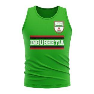 Ingushetia Core Football Country Sleeveless Tee (Green)